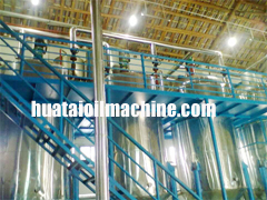 fully continuous animal Oil refining equipment