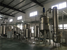 Rice bran polysaccharide extraction equipment