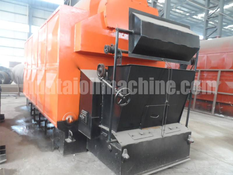 wood fired steam boiler automatic chain