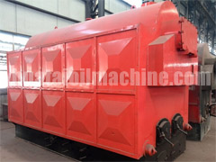 Coal/ Wood Fired Steam Boiler ( Hand )