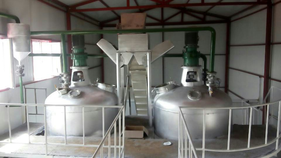 Butter oil refining equipment