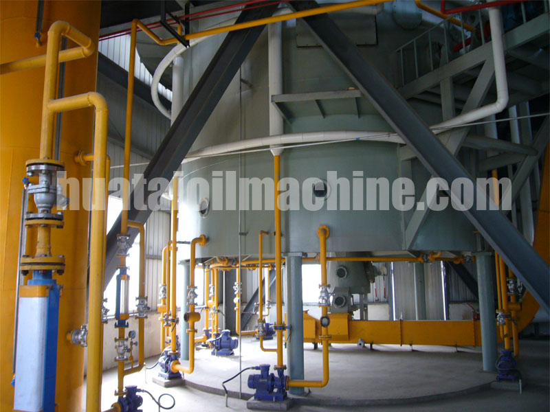 copra oil extraction production line