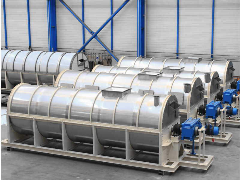 rotary bundle dryer