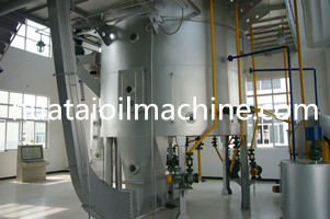 crude sunflower oil extraction machine