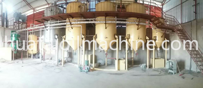 small palm oil refining equipment