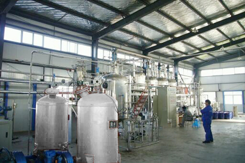 Strong-flavor Oil Refining Plant