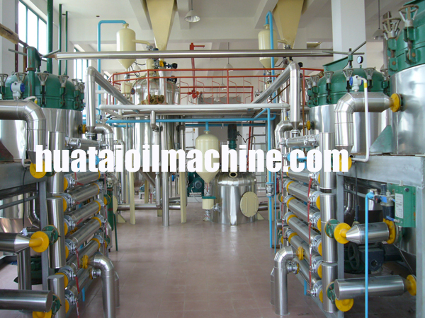 peanut oil production line