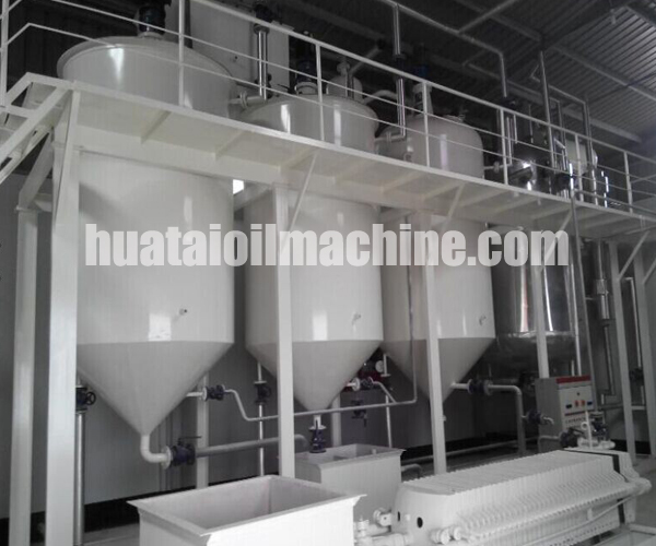 rice bran oil mill