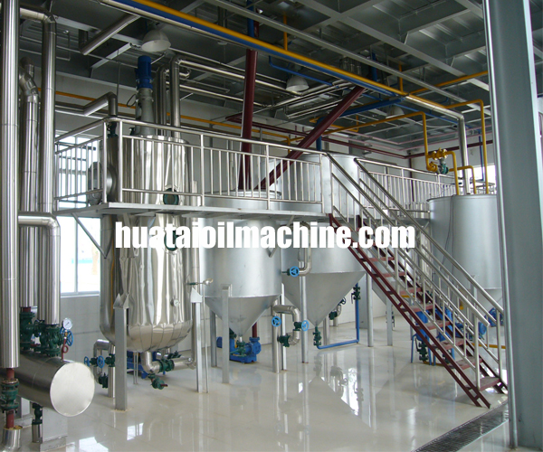 soybean oil making machinery